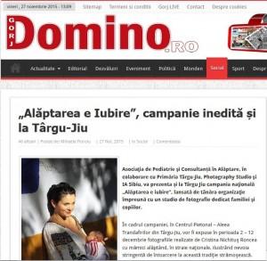 Alaptarea Gorj Domino