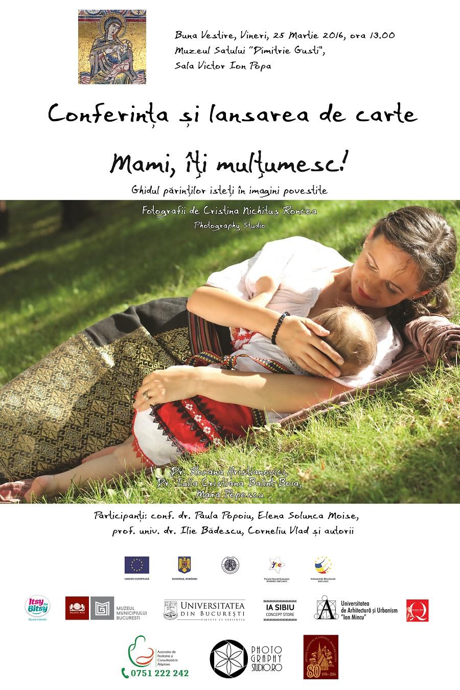 AFIS MAMI, ITI MULTUMESC - Album Foto de Cristina Nichitus Roncea - Ghid Asociatia de Pediatrie si Consultanta in Alaptare