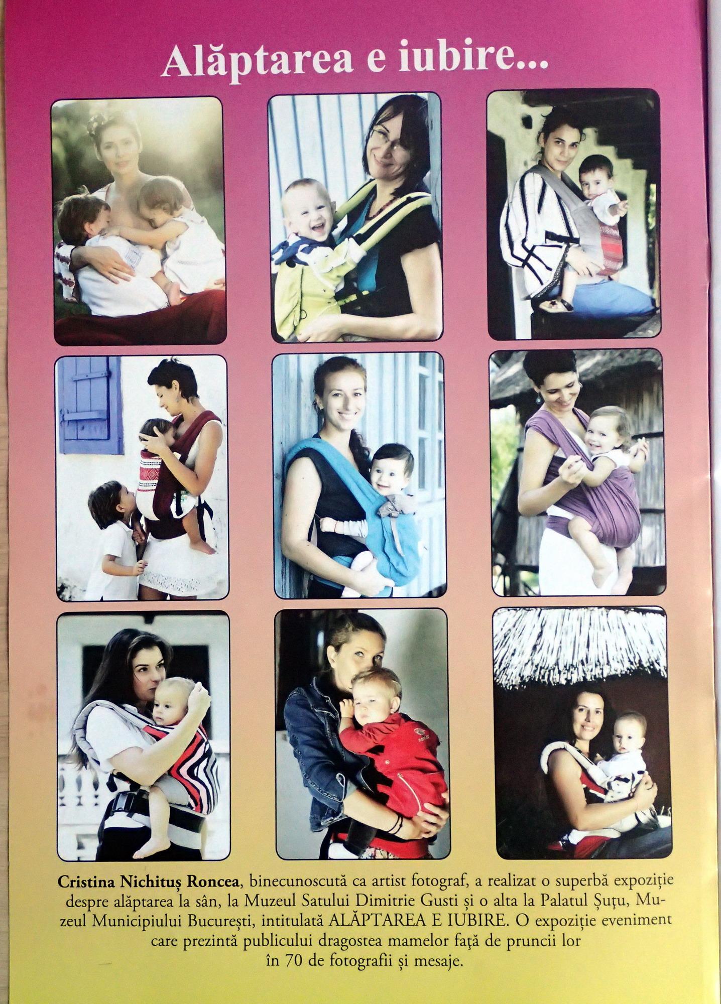 Alaptarea e Iubire de Cristina Nichitus Roncea in Revista Familiei din Israel - Decembrie 2015