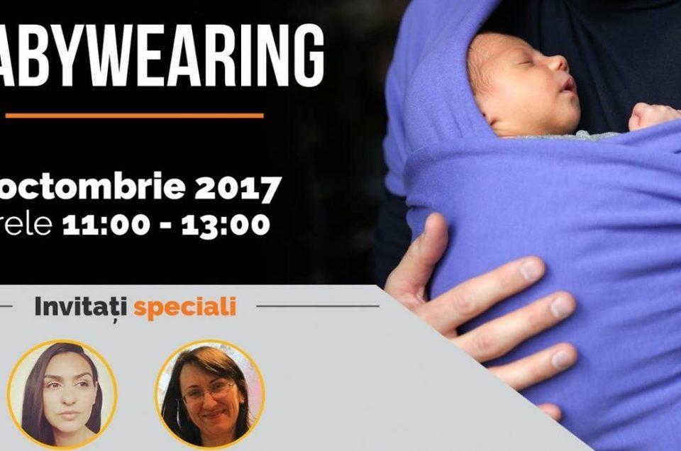 A II-a Ediţie a Conferinței de Babywearing are loc la ParkLake, Duminică, 8 Octombrie 2017, cu Photography Studio - Kids & Family ca Partener Fidel