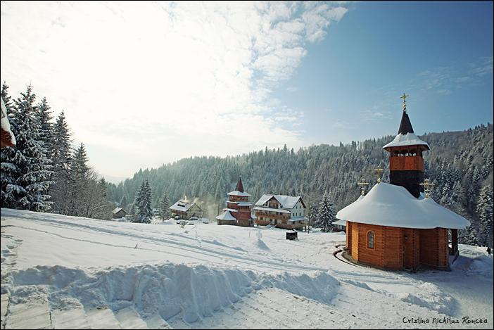 Fotografii de Cristina Nichituş Roncea: De ziua Parintelui Justin Parvu, la Manastirea Petru Voda