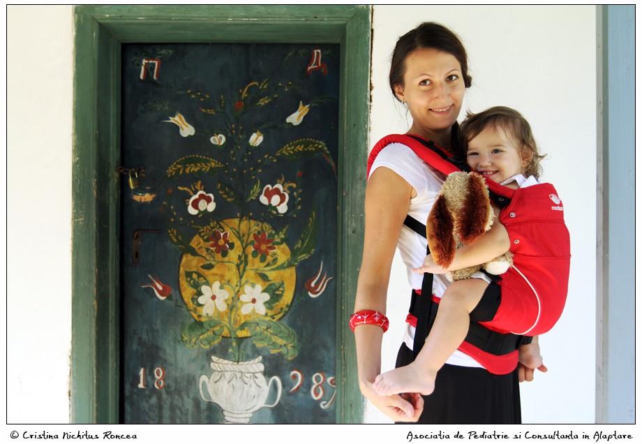 """Săptămâna Internaţională a Purtării Copiilor, 4-10 octombrie 2015 – Fotografii de Cristina Nichituş Roncea la Muzeul Naţional al Satului """"Dimitrie Gusti"""""""