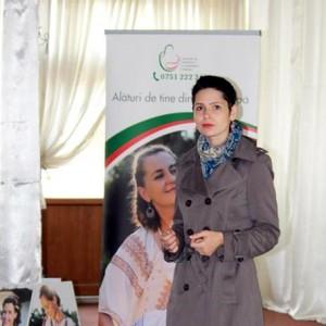 Conferinta Alaptarea e Iubire la Oltenita - Mara Popescu