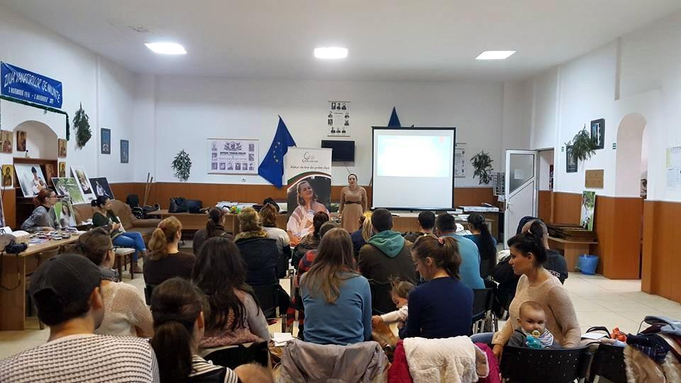 Conferinta Alaptarea e Iubire la Targu Jiu - Dr Roxana Hristianovici
