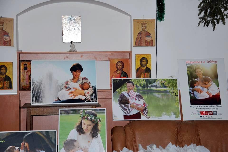 Conferinta Alaptarea e Iubire la Targu Jiu Foto