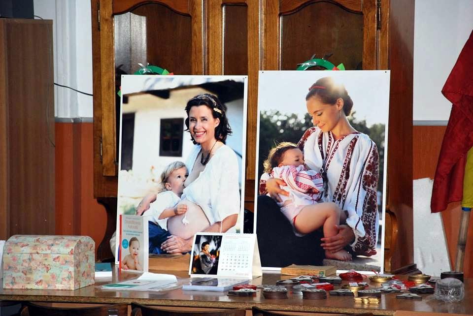 Conferinta Alaptarea e Iubire la Targu Jiu - Fotografii si Calendare