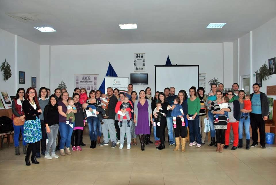Conferinta Alaptarea e Iubire la Targu Jiu - participantii