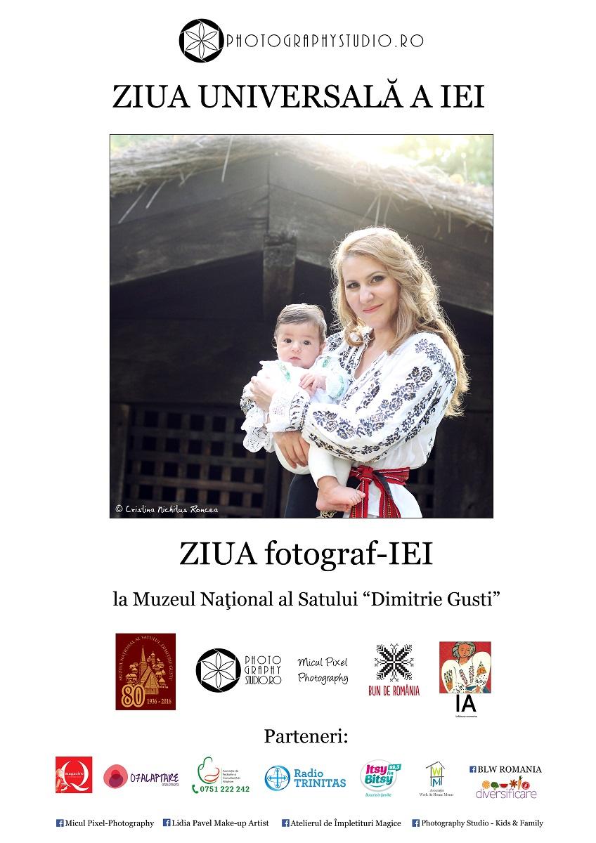 ZIUA fotograf-IEI la Muzeul Satului, PhotographyStudio Ro