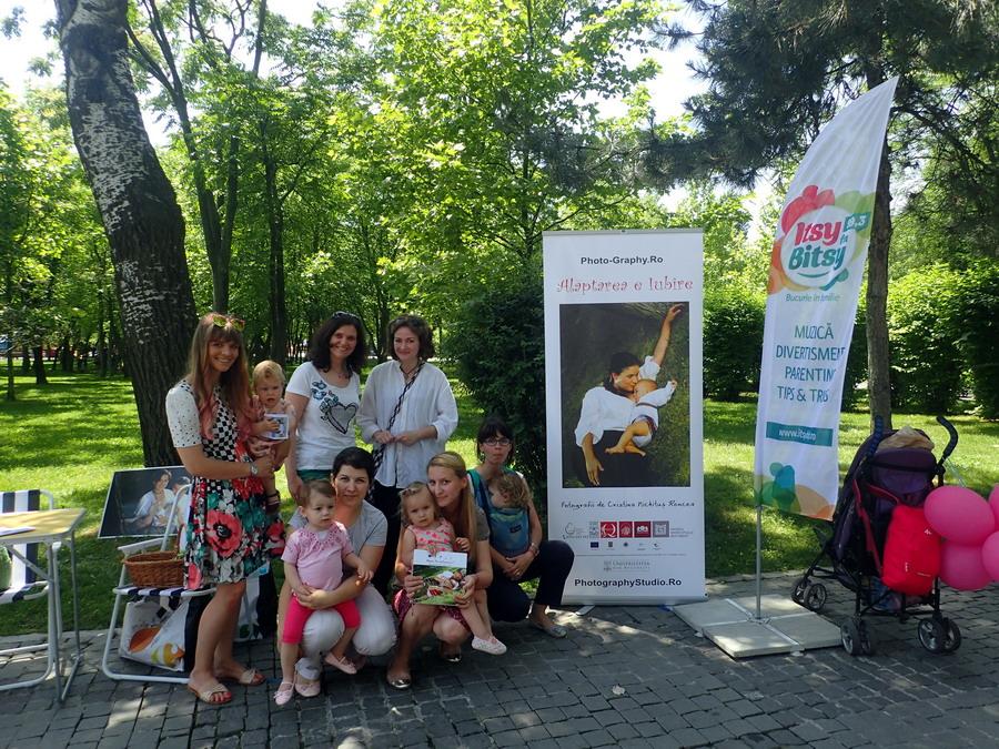 Alaptarea e Iubire cu Mami iti Multumesc si Cristina Nichitus Roncea la 1 iune 2016 cu Itsy Bitsy si Nadia Tataru in Parcul IOR 5