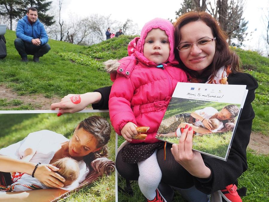 Albumul Mami iti Multumesc la Marsul pentru Viata 2016