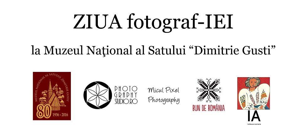Aniela Petreanu sărbătorind Ziua Universală a Iei la Muzeul Satului împreună cu familia şi Photography Studio