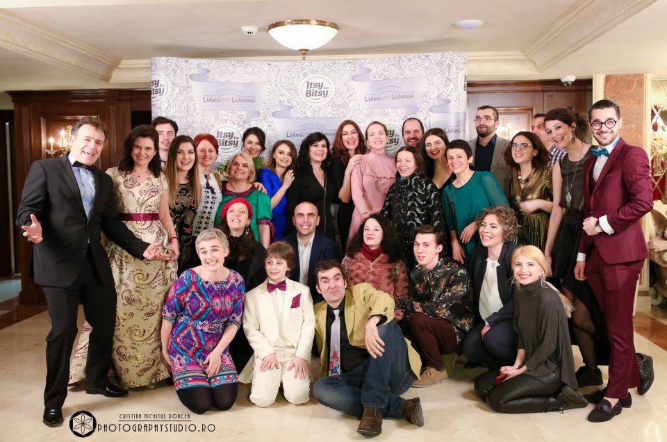 La Gala Itsy Bitsy cu Marcel Iureș, Felicia Filip, Cristian Pepino și Leon Magdan. Partener: PHOTOGRAPHY STUDIO