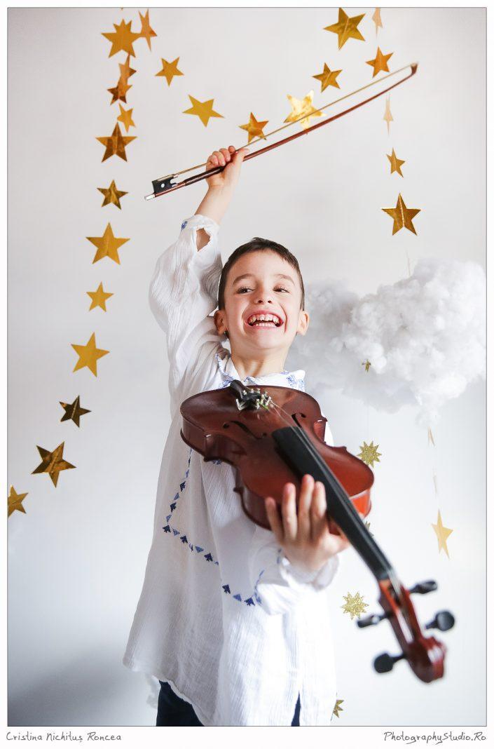 Copiii şi pasiunile lor – Micul Violonist